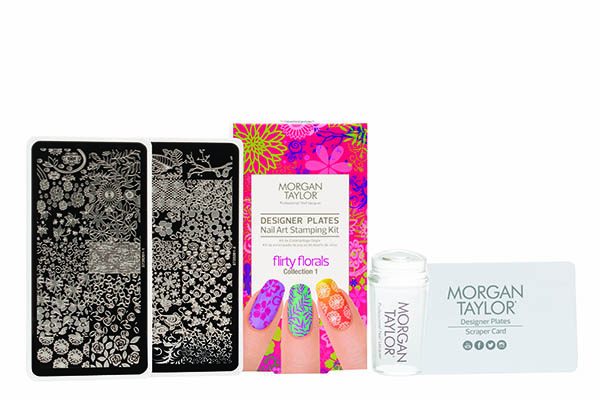 Stamping Kit FLIRTY FLORALS
